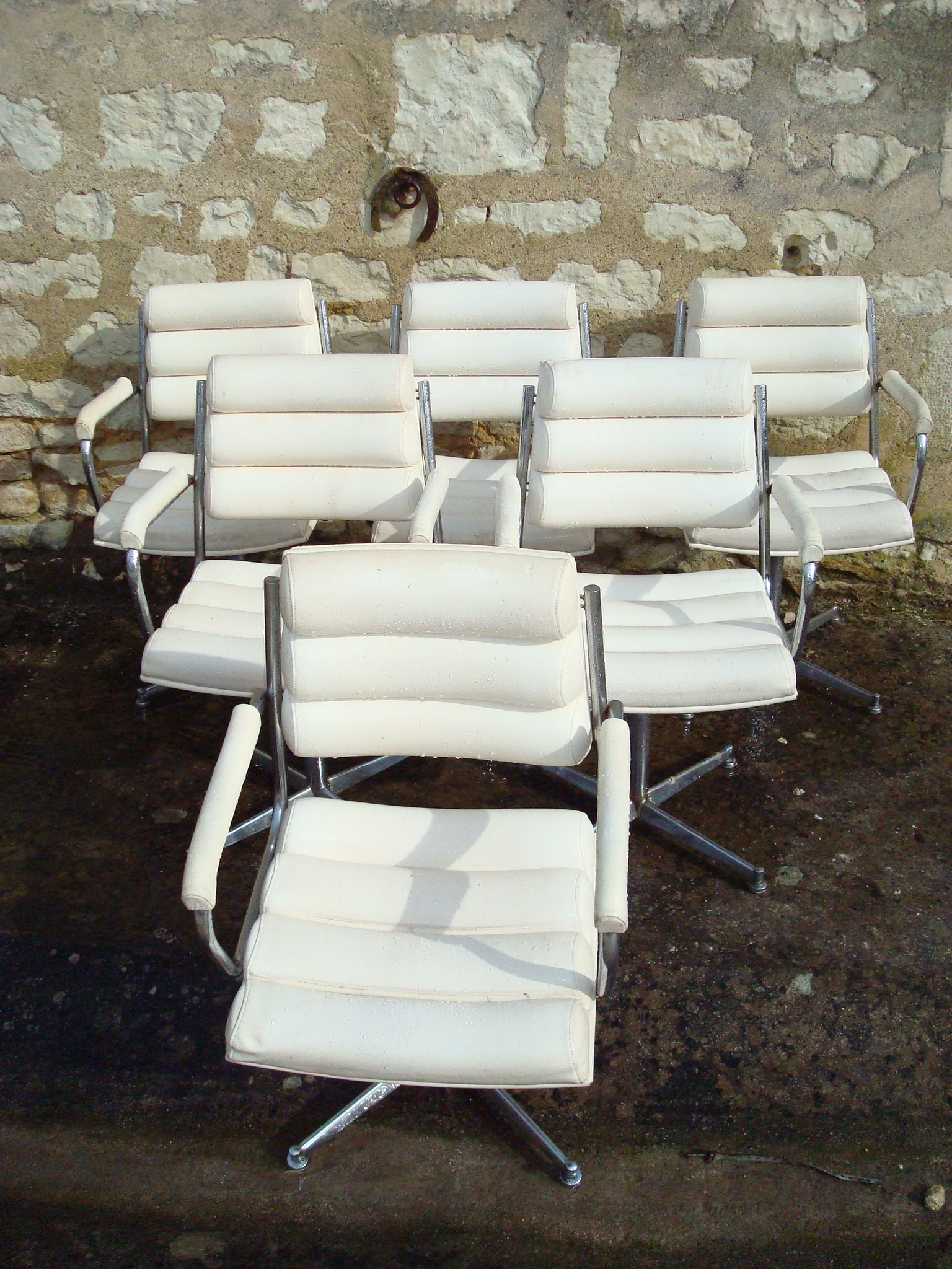 Fauteuils ann e 80 salon de coiffure de brics et de brocs - Fauteuil dans un salon de coiffure pour dames ...